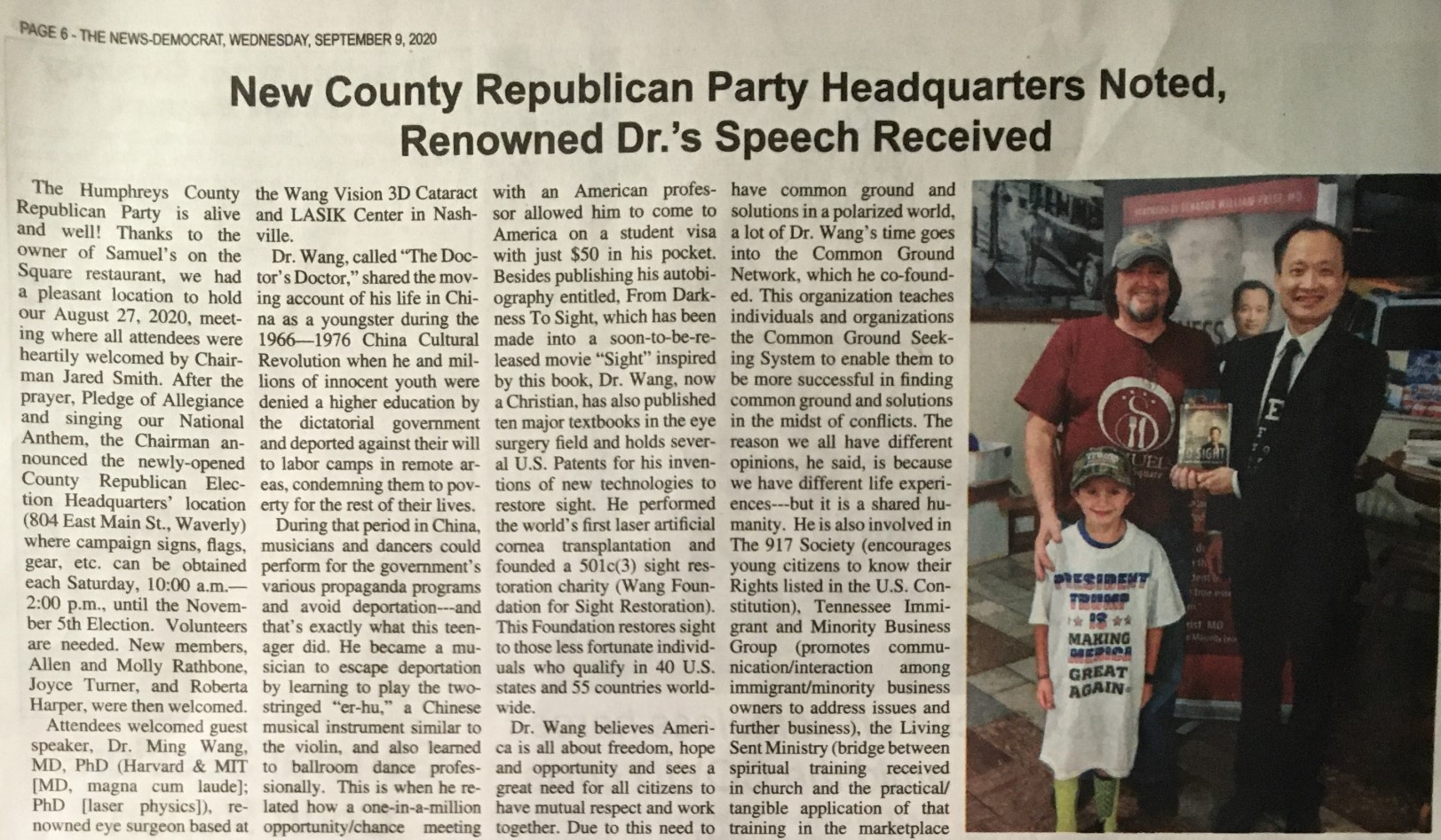 new county republican