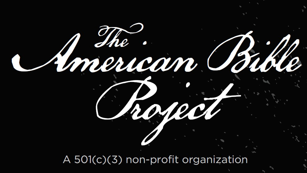 The American Bible project