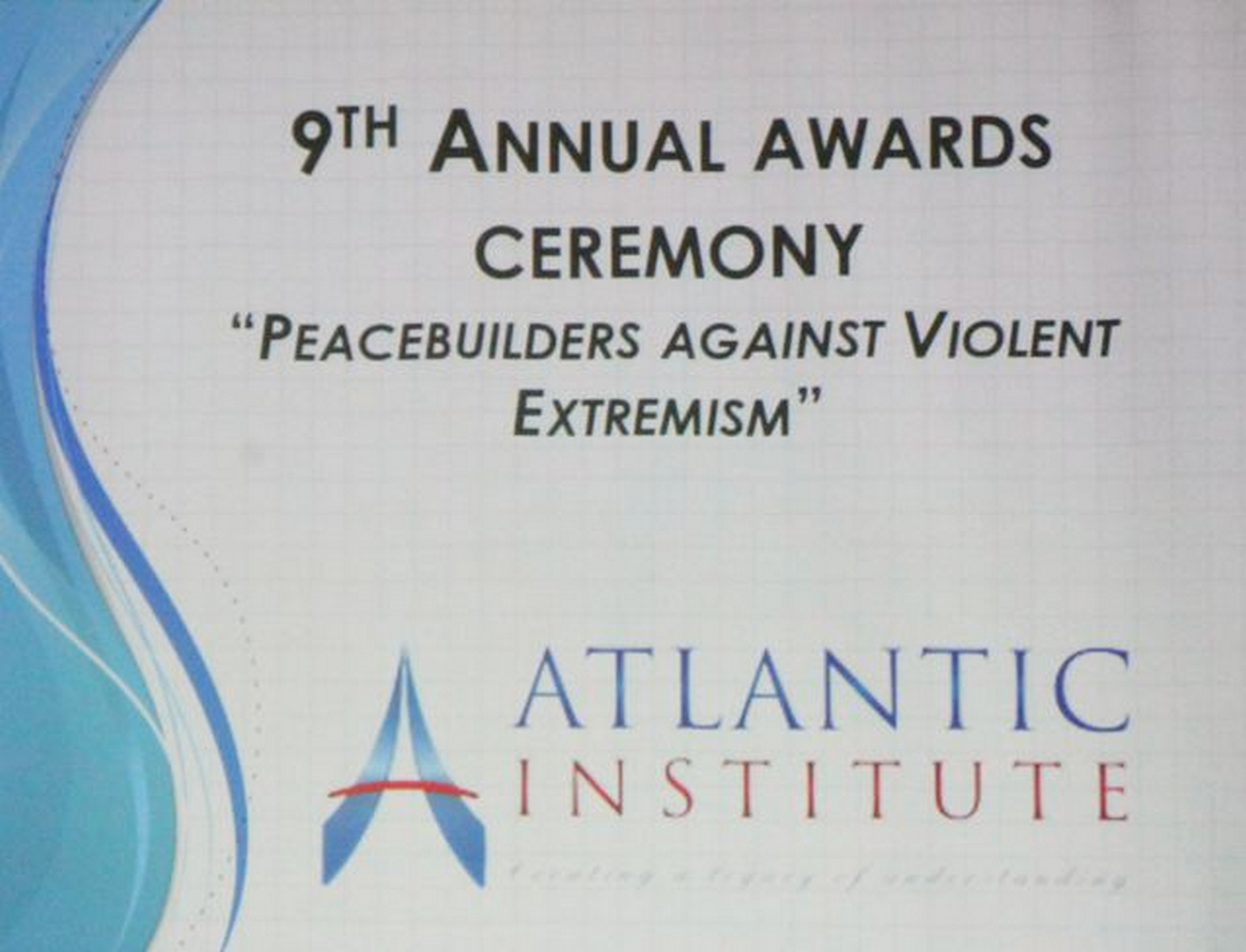 Award from Atlantic Institute_2